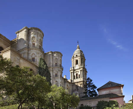 Cathedral Basilica de la Encarnacion in Malaga. Spain