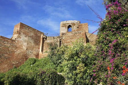 Alcazaba fortress in Malaga. Spain