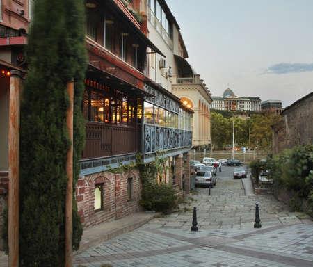 View of Tbilisi. Georgia
