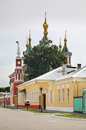 Ivan Lazhechnikov street in Kolomna Kremlin. Russia
