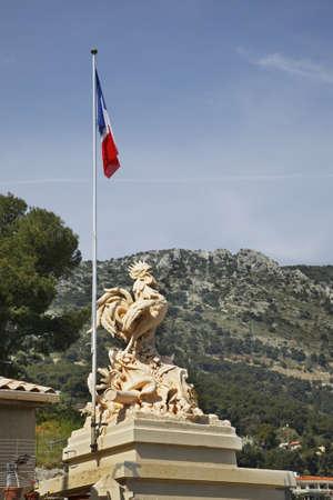 Monument to fallen in World Wars. Canton de Beausoleil. France