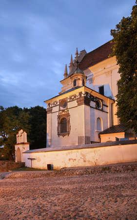 Church of St. John  Baptist in Kazimierz Dolny. Poland
