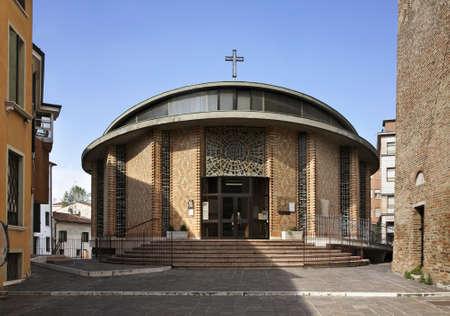 Church of San Martino Urbano in Treviso. Veneto region. Italy Stock fotó