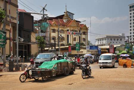 View of Poipet. Cambodia