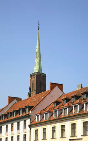 Church of Holy Cross in Wroclaw. Poland