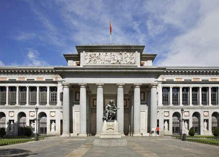 Museo del Prado in Madrid. Spain