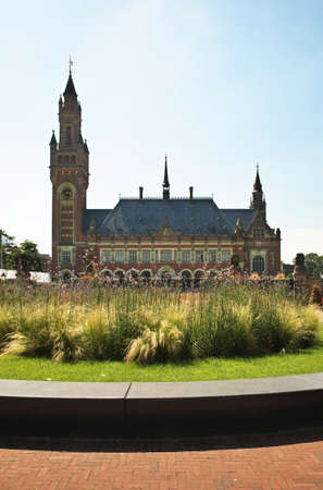 Peace Palace at Hague (Den Haag). South Holland. Netherlands