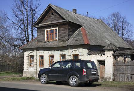 View of Ostashkov. Russia Archivio Fotografico - 106569935