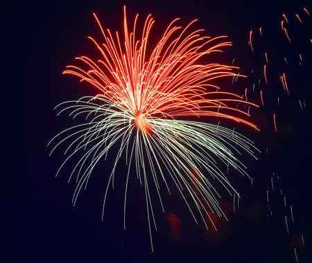 Firework in Kolomna. Russia