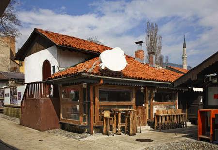 Bascarsija – old bazaar in Sarajevo. Bosnia and Herzegovina