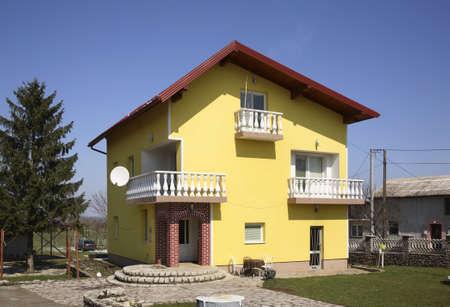 View of Izacic village. Bosnia and Herzegovina