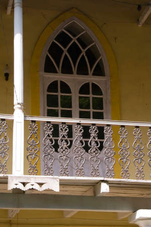 Old traditional house in Goa state. India