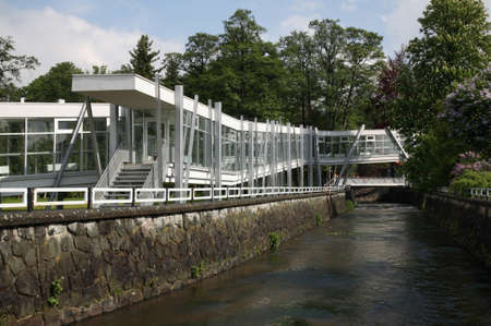 Spa and aquapark in Turcianske Teplice. Zilina Region. Slovakia