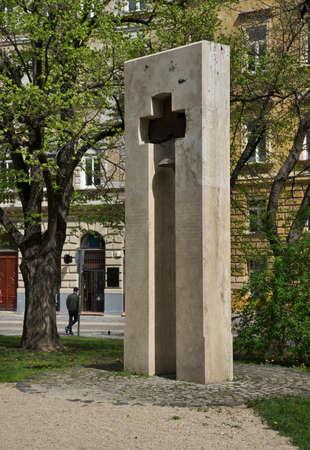 Serbian orthodox monument in Budapest. Hungary Sajtókép