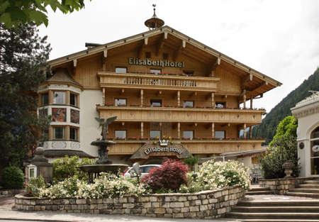 Elisabeth hotel in Mayrhofen. Austria Sajtókép