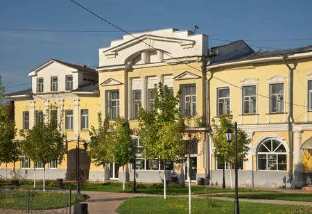 Ermakov square in Murom. Russia