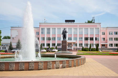 Square of 1100th Anniversary of Murom in Murom. Russia Editorial