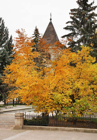 Main square in Kosice. Slovakia