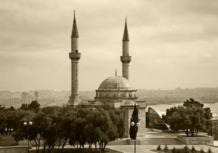 Mosque of Martyrs in Baku. Azerbaijan