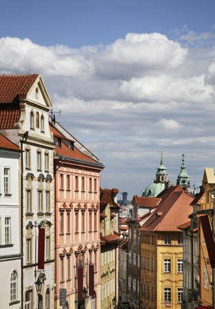 Lesser Town - Mala Strana in Prague. Czech Republic