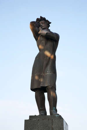 Monument to Nikoloz Baratashvili in Gori. Shida Kartli mkhare. Georgia