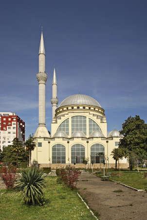Ebu Beker Mosque in Shkoder. Albania