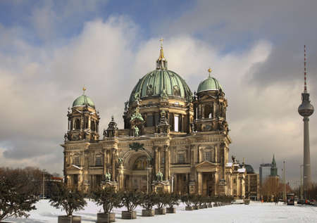 Cathedral in Berlin. Germany