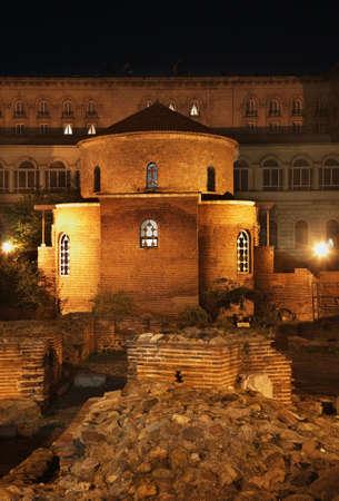 Saint George Rotunda in Sofia. Bulgaria Archivio Fotografico