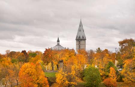 Alexander Cathedral in Narva. Estonia
