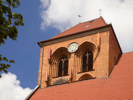 Parish church of St. Apostles Peter and Paul in Puck. Poland