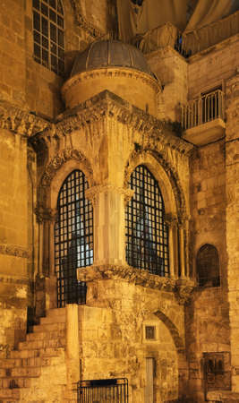 Church of the Holy Sepulcher (Church of the Resurrection) in Jerusalem. Israel