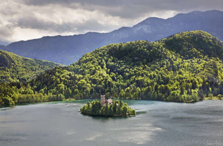 View of Lake Bled. Slovenia