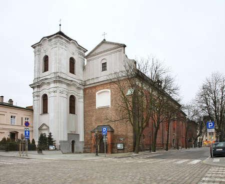 Church of Heart of Jesus in Poznan. Poland