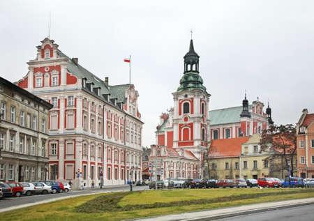 Church of St. Stanislaus in Poznan. Poland