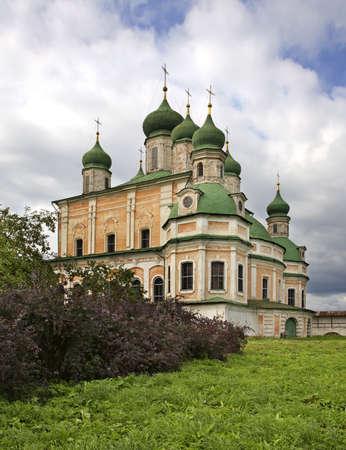 Assumption cathedral in Goritsky Monastery. Pereslavl-Zalessky. Yaroslavl Oblast. Russia