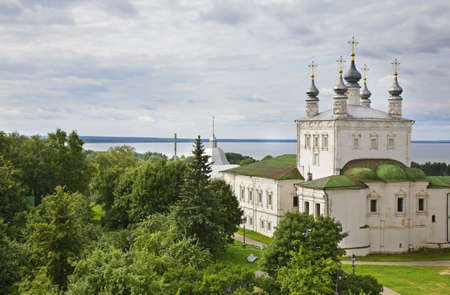 Church of All saints in Goritsky Monastery. Pereslavl-Zalessky. Yaroslavl Oblast. Russia