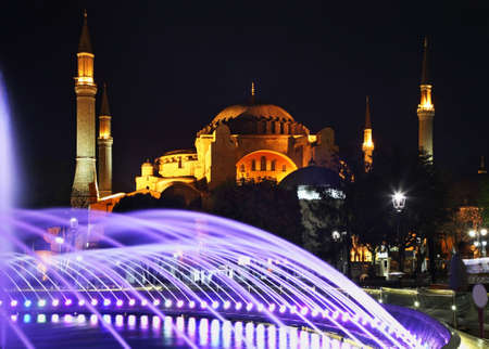 Hippodrome of Constantinople (Sultanahmet square) in Istanbul. Turkey Stock Photo