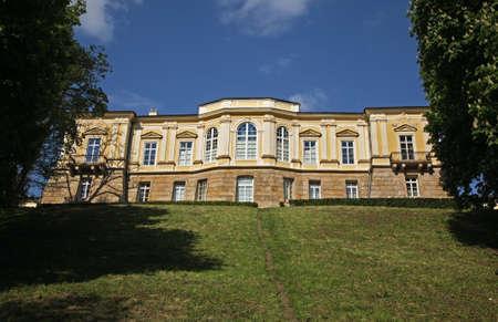 Czartoryski Palace in Pulawy. Poland
