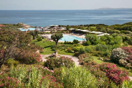Resort Valle dell Erica Thalasso and spa. Province of Sassari. Sardinia island. Italy