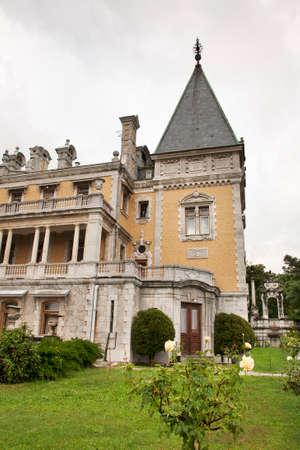 Palace of emperor Alexander III in Massandra. Crimea. Ukraine