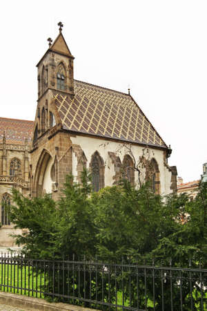 Chapel St. Michael in Kosice. Slovakia