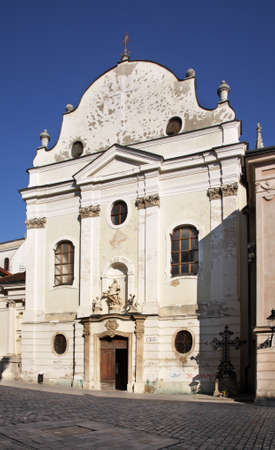 Franciscan Church in Bratislava. Slovakia