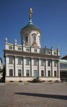 Old Town Hall (Altes Rathaus) at Alter Markt in Potsdam. State Brandenburg. Germany