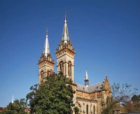 Cathedral of Mother of God in Batumi. Autonomous Republic of Adjara. Georgia