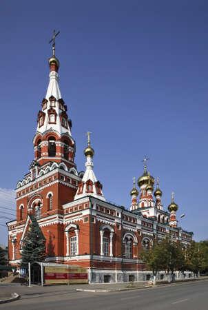 Fedosevskaya church in Perm. Russia