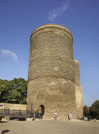 Maiden Tower in Baku. Azerbaijan