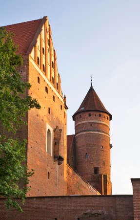 Castle of Warmia head in Olsztyn. Poland
