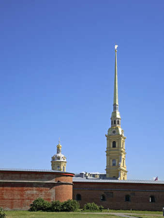 Peter and Paul cathedral in Saint Petersburg.