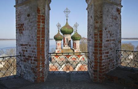 Trinity cathedral in Ostashkov. Russia