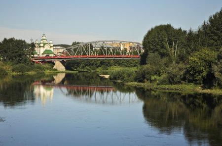 Sylva river in Kungur. Perm Krai. Russia